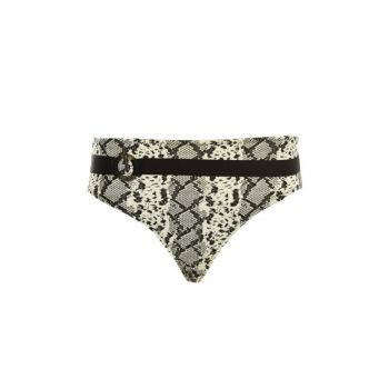 Textured Belt High Waist Bikini Bottom TBESS20BA0165