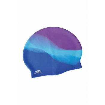 Unisex Purple Swim Bonnet & Goggles - 17YKSK0L2219