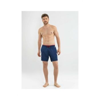 Men's Shorts Swimwear - 8572 - Navy Blue