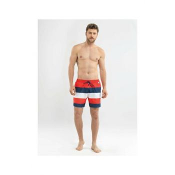 Men's Shorts Swimwear - 8559 - Red