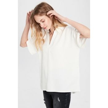Women's White Blouse 0SH102Z8