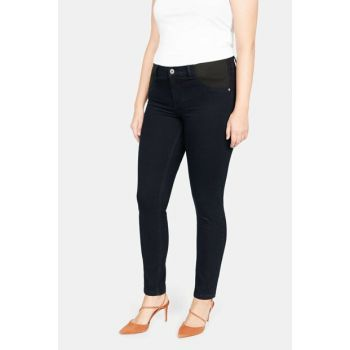 Women's Dark Navy Super Narrow Trimmed Felicity Jean Pants 53093761