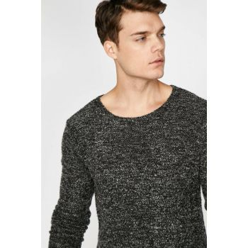 Men's Gray Sweater 9KAM91014LK