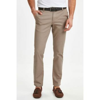 Men's Beige Mq2 Trousers 9S4480Z8