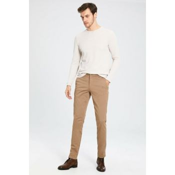 Men's Dark Beige Trousers 9WS741Z8