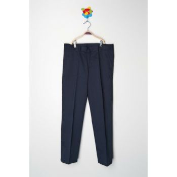 Navy Blue Men's Trousers K-KL11W011