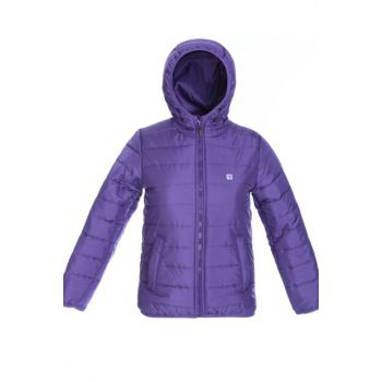 Sportive Girlkapmont Kids Mot Coats G10008-PURPLE
