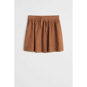 Tobacco Coffee Girl Child Corduroy Skirt 53075724