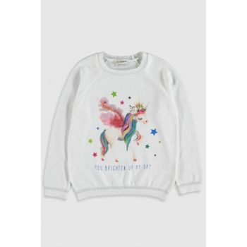 Girl Boy Optical White Ffb Sweater 0S3290Z4