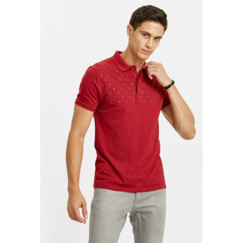 Men's Red T-shirt 8W2198Z8