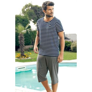 Men's Capri Suit Striped MEP24226-2