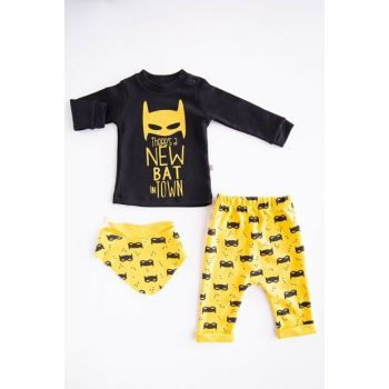 Baby Boy Layette Set of 3 BDFHJQSU