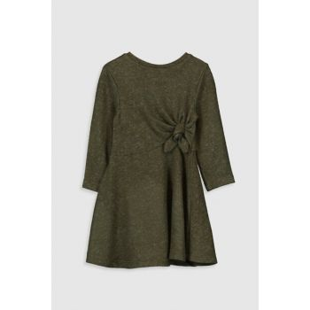 Baby Girl Khaki Hda Dress 9WT056Z4