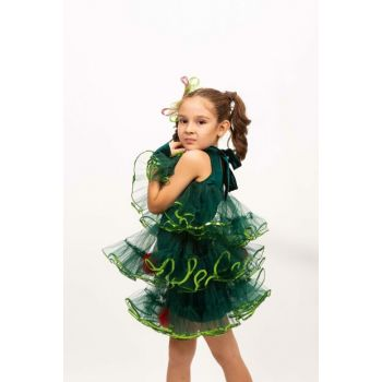 Pine Tree - New Year 03 / Kids 4 Age Girl Costume ST00046-8