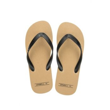 Men's Slippers - Friction Men's Brown Flip-Flops - 604538-7019