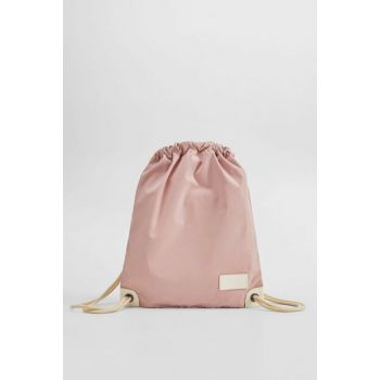 Light Pink Girl Children Rope Shirred Backpack 57067107