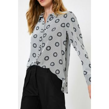 Women's Black Blouse 0KAK68177PW