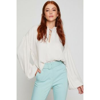 Women's Ecru Blouse 8YAK68642PW