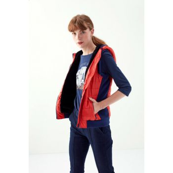 Women's Red Inflatable Vest 1195480 300468