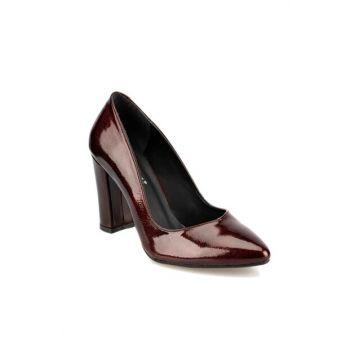 Maroon Women's Heeled Shoes 92.314086RZ