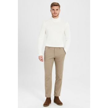 Men's Beige Trousers 9W0989Z8