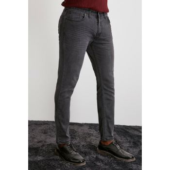 Anthracite Men's Destroyl and Crash Tapered Jeans TMNAW20JE0325