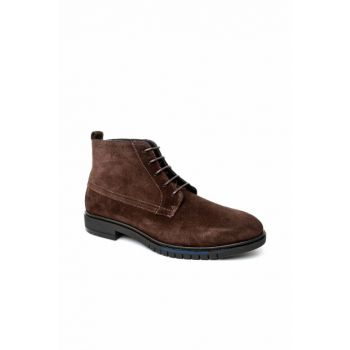 Men's Flexible Dressy Suede Boots FM0FM01760