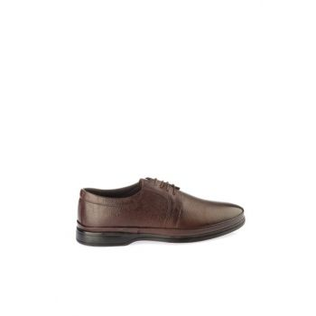 Genuine Leather Brown Men Classic Shoes 02AYY162650A480