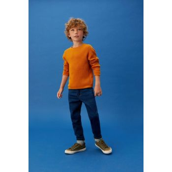 Dark Blue Boy's Comfy Trousers 53083722