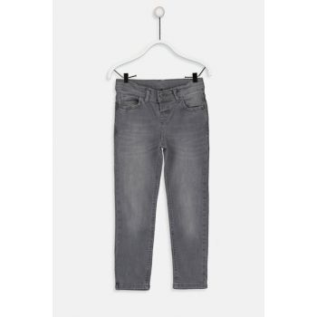 Boys Gray Rodeo Trousers 9W0858Z4