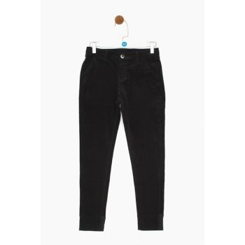 Boys' Navy Blue Trousers 19FW0NB3230