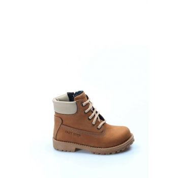 Genuine Leather Taba Boys Boots 1875734