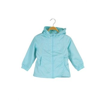 Light Green Girls Coat 9YKG27306OX