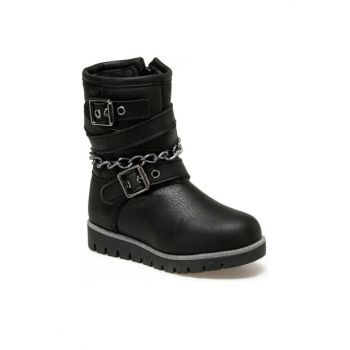 92.ZENDY-1.P Black Girls Boots