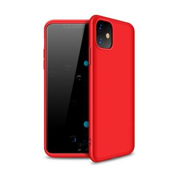 For Iphone 11 (6.1 '') Case, Microsonic Double Dip 360 Protective Red CS110-DD-360-IP11-KRZ