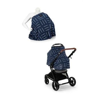 EleleLife Functional Pushchair and Breastfeeding Cover Line EL19MELLFEMZORTTR9