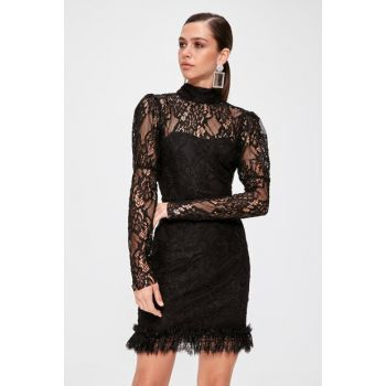 Black Lace Dress TPRAW20EL1389