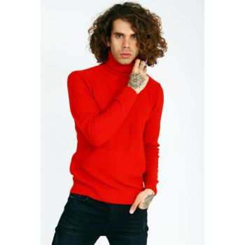 Men's Red Sweater MARTINO UCE190717A17