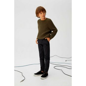 Black Boy Trousers With Pants 57085918