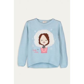Girl's Blue Fxe Sweater