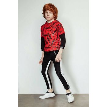 Boys Black Trousers 19FW2NB3243
