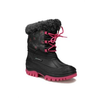 F09963SPI - 00500221 Black Girls Snow Boots