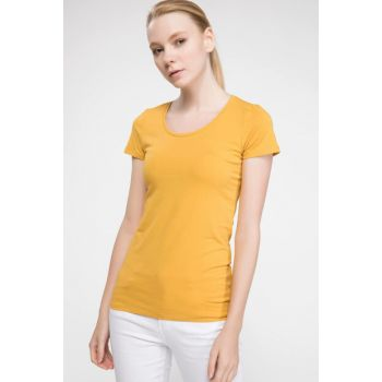Women's Round Neck Basic T-shirt J9840AZ.18AU.YL64