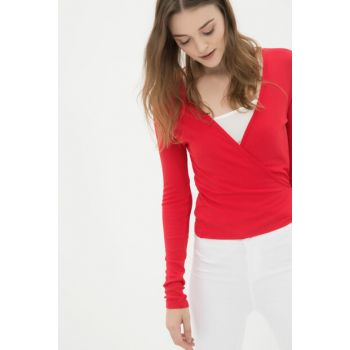 Women's Red T-Shirt 7KAK18521OK