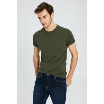 Men's Khaki T-shirt 0S1780Z8