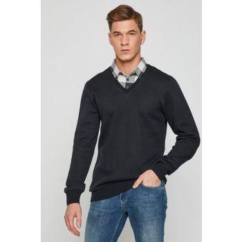 Men's Anthracite Sweater 8KAM91416NK 8KAM91416NK