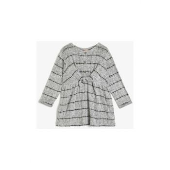 Gray Baby Dress 0KMG89250OK