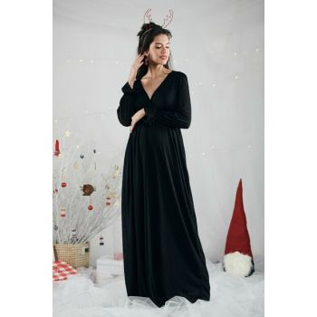 Valentina Dress - Black M2346