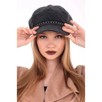 Front Chain Cap Women's Hat DFX98712