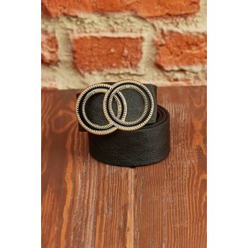 Women's Black & Taba Double Sided Belt 9YXK9-42106-02